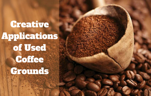 Creative Applications of Used Coffee Grounds