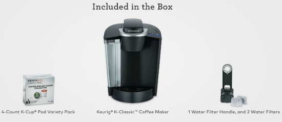 keurig-k55-included-in-the-box