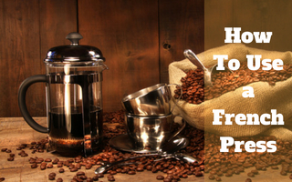 How To Use a French Press – Guide