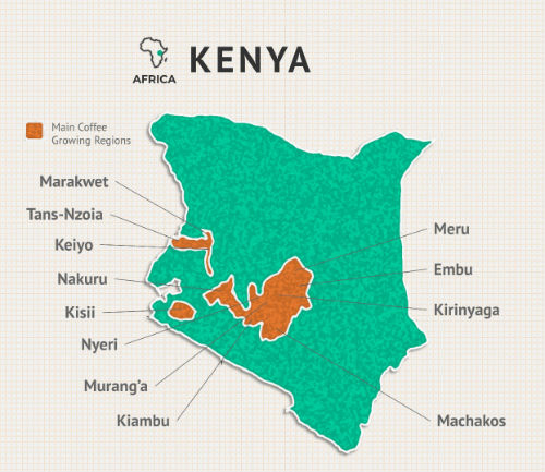 kenya-coffee-regions