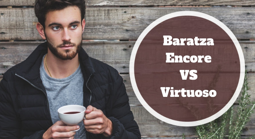 Baratza Encore VS Virtuoso comparison image