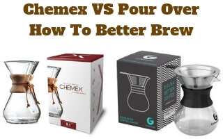 Chemex VS Pour Over Coffee Brewing