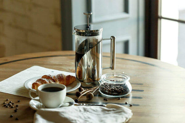 french press and percolator brewing method