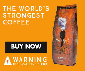 Volcanic Kona coffee