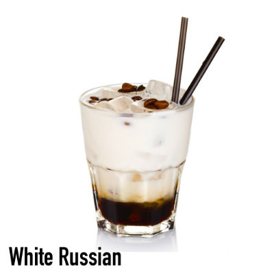 Volcanica White Russian flavored coffee